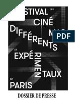 Dossier de presse de la 14e édition du Festival des Cinémas Différents et Expérimentaux de Paris (2012).