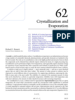 Crystallization and Evaporation