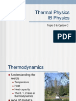 Thermal Physics CBSE