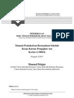 Manual Kerja Kursus (Kerja Projek) Pengajian Am (Manual Calon