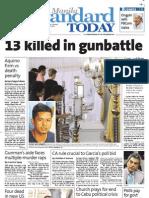 Manila Standard Today -- Monday (January 07, 2013) issue