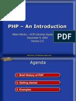 PHP intro