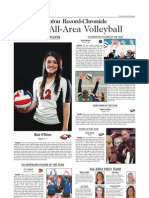 2012 DRC All-Area Volleyball team