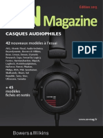 Guide casques audio  2013 - ON Magazine