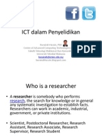 ICT for Researchers
