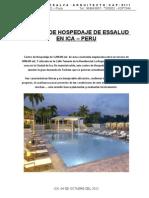 ESTUDIO PREFACTIBILIDAD DE HOSPEDAJE-ESSALUD ICA
