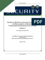 국가보안시설 건축요령 20120423