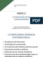 Presentacion, Psicologia Social Contemporanea