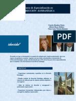 Especialización en Dirección Estratégica - Planes y Cursos de Formación a Profesionales idecide