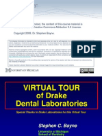 Virtual Tour of Dental Lab PPT