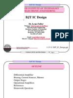 Bjt Ic Design