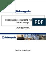 9.Funciones Del Organismo Regulador Del Sector Energia