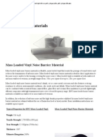 Noise Barrier Materials - Environmental Noise Control — The Noise Control Specialists