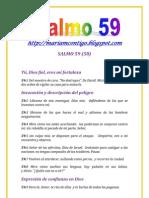 SALMO 59 - ALIANZA DE AMOR