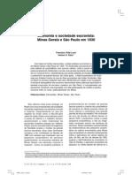 Economia e Sociedade em Minas Gerais e São Paulo em 1830_ANPEC