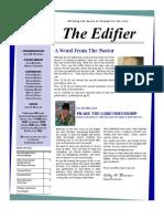 The Edifier Issue 1.Jan.feb.2013