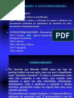 DERMOABRASÃO  &  MICRODERMOABRASÃO 2009.1 material para turma set.11