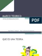 Marco Teorico Explicacion