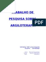 59042833 Argiloterapia Trabalho de Pesquisa