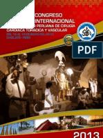 CONGRESO 2013 PERÚ - PROGRAMA OFICIAL