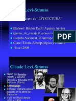 Levi-Strauss y el concepto de estructura.