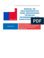 Manual de procedimientos para OTEC