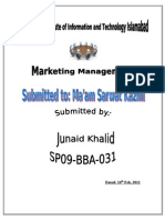 Frnt Page of Management