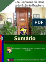 Incubadora de Empresas de Base Tecnológica do Exército