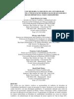 Oportunidades de melhoria na disciplina de custos com a utilização do modelo Kano de qualidade e da matriz de importância e desempenho