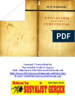 1950_Socialism and the Individual_M.D. Kammari_1950