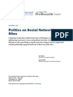 PIP Political Life on Social Networking Sites