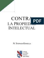 Contra la Propiedad Intelectual - Stephan Kinsella