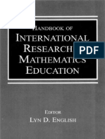 Handbook of International Research in Mathematics Education - Lyn D. English