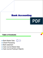 SAP bank configuration