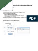 SAP NW Cloud Application Development Scenario