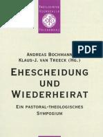 Ehescheidung und Wiederheirat (A. Bochmann, K-J. van Treek)