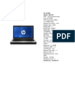 Laptop Config