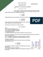 Formulario Equilibrio y Acido - Base