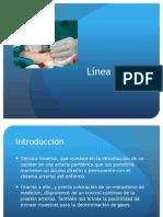 Disertación línea arterial