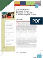 Teaching English Language Learners_Ch. 11