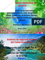 Oración Dominical el Padrenuestro