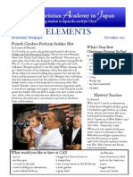 Elements December Issue