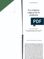 Grafton Los Origenes Tragicos de La Erudicion 11-29