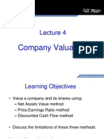 Company Valution