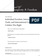 Individual Freedom, International Trade and International Conflict