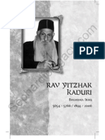 Sample Chapter R Yitzhak Kaduri