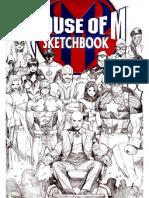 House M Sketchbook up x