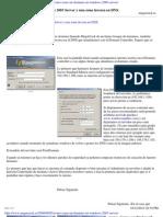 Crear dominio en windows server 2003