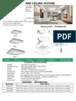 led square fixture
