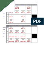 Schedule of Classes, 2nd Sem 2012-1